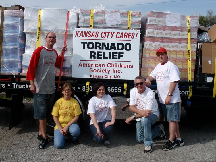 Tornado Relief American Childrens Society